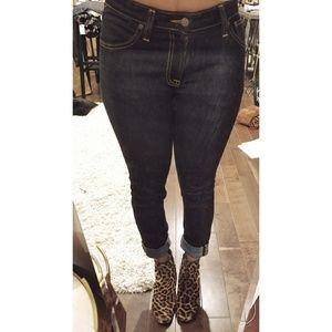 d4aa3c86 Nudie Jeans Jeans - Nudie Jeans skinny lin dry deep orange W29 L30
